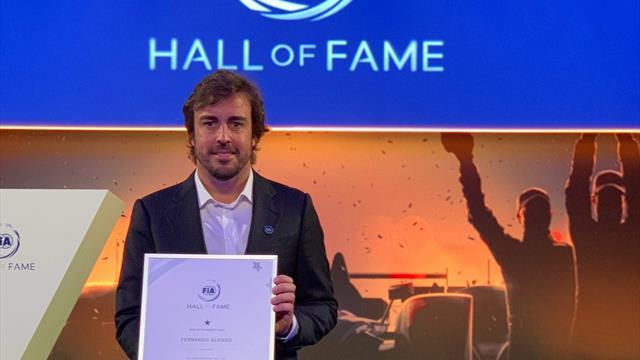 Fernando Alonso vuelve al Salón de la Fama de la FIA, ahora como campeón del WEC