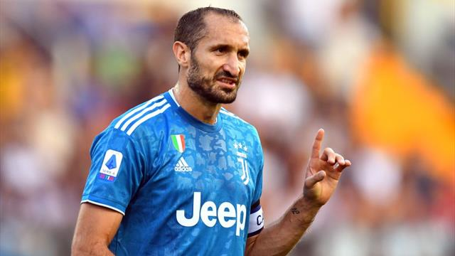 Chiellini Juventus, bordata improvvisa:
