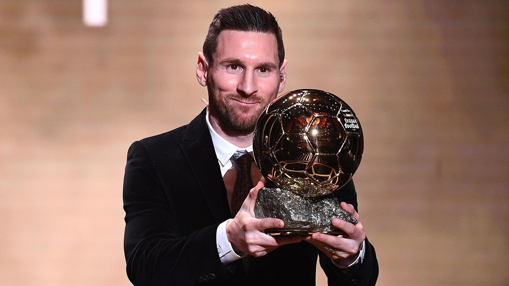 Weltfussballerwahl Lionel Messi Erhalt Den Ballon D Or 2019