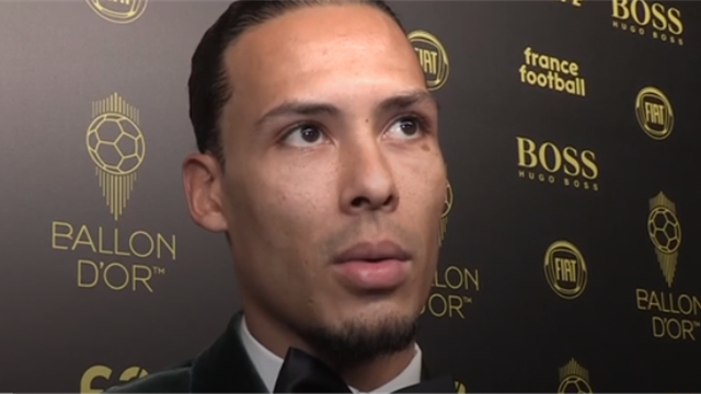 Van Dijk: 'Liverpool could have had more players on the Ballon d'Or shortlist'