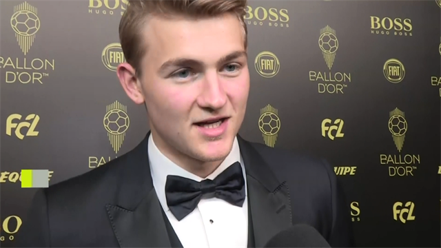 De Ligt: 'I don't know why people chose me for Kopa Trophy'