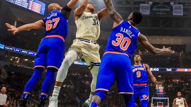 Antetokounmpo continúa imparable en la NBA