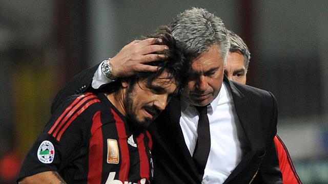 Gattuso poate să-i ia locul lui Ancelotti pe banca lui Napoli