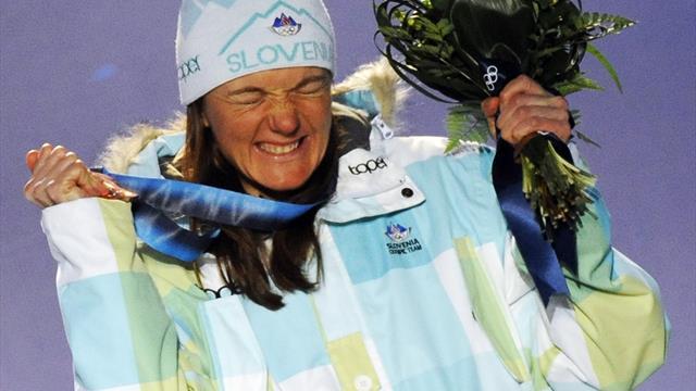 Ein Sieg über alle Schmerzen! Das Olympia-Märchen der Petra Majdic