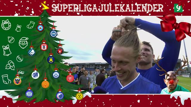 4. december: Jesper Christjansen fejrer Lyngbys oprykning med en klipning på direkte TV