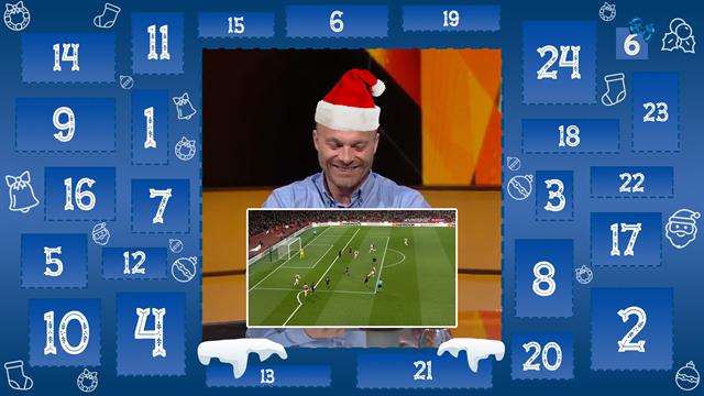 4. december: Lars flækker af grin over John Faxes offsidelinje