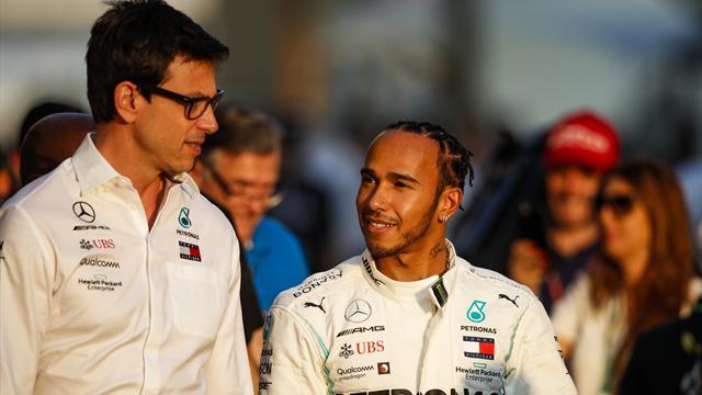 """Hamilton - Mercedes, un """"couple évident"""" selon Wolff"""