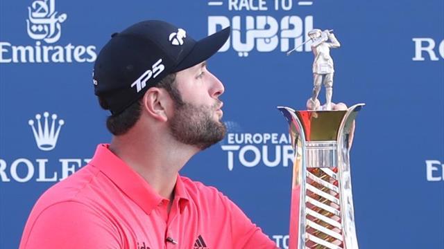 Jon Rahm 'Mejor Golfista del European Tour' 2019, tercer español en lograrlo