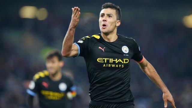 Premier League: El City de Guardiola se desquita del empate ante el Newcastle goleando al Burnley