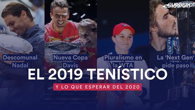 El 2019 tenístico: Un año descomunal de Nadal, muchas sorpresas en la WTA y la antesala del 2020