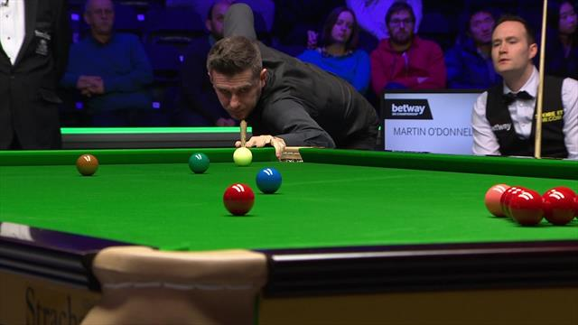 Mark Selby approaches victory with glorious long red