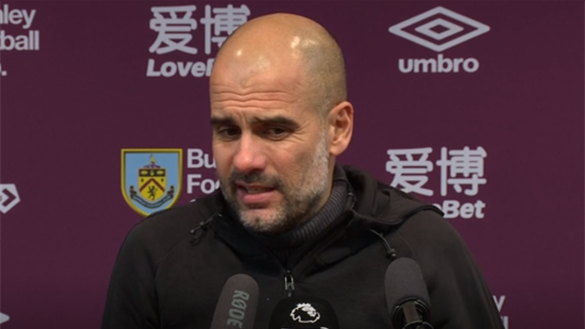 'The title race is over, it's done' - Guardiola