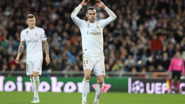 Bale vuelve a ejercitarse aparte en el segundo entrenamiento de la semana