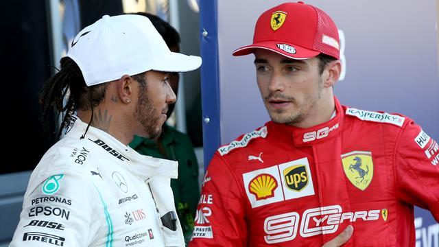 Hamilton als neuer Ferrari-Teamkollege? Das sagt Leclerc