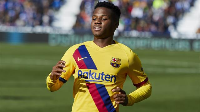 Barcelona youngster Ansu Fati signs new deal until 2022