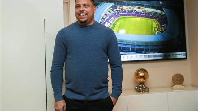 Tebas: Ronaldo está muy implicado con el Real Valladolid