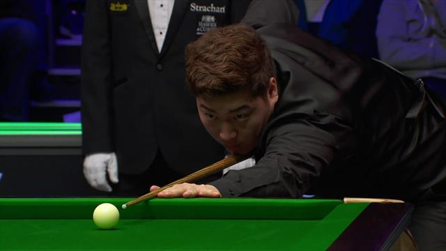 Yan Bingtao dispatches cross double to seal two-frame lead