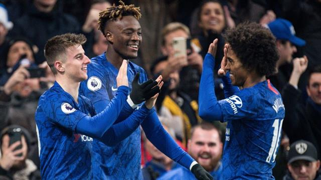 Abraham steers Chelsea to win over Aston Villa