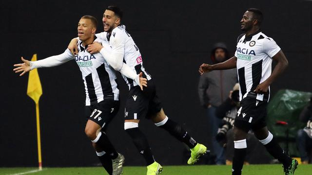 Coppa Italia, l'Udinese si