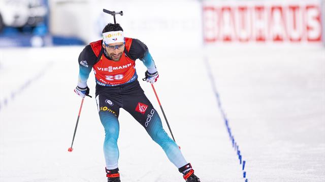 Fourcade leads French quadruple in Oestersund