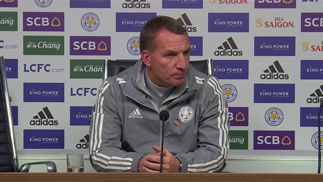 Rodgers: 'It's too early to talk about Leicester winning the title'