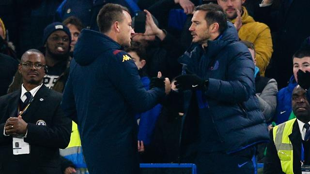 'I'm happy but I want more' - Lampard after Chelsea beat Villa