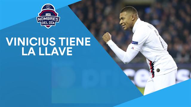 Vinicius-Mbappé, Hazard, Bruno Guimaraes, Lautaro y Sancho, los nombres del día