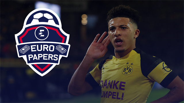 Ed Woodward ready to pay big to beat Liverpool and Chelsea to Jadon Sancho signing – Euro Papers