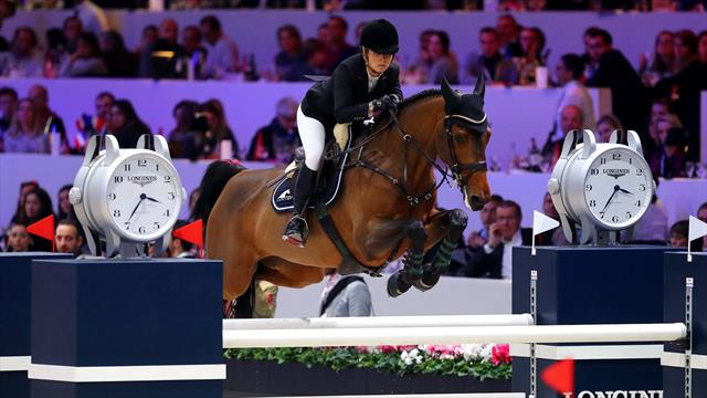 Paris is the last stop of the year on the Longines Masters circuit