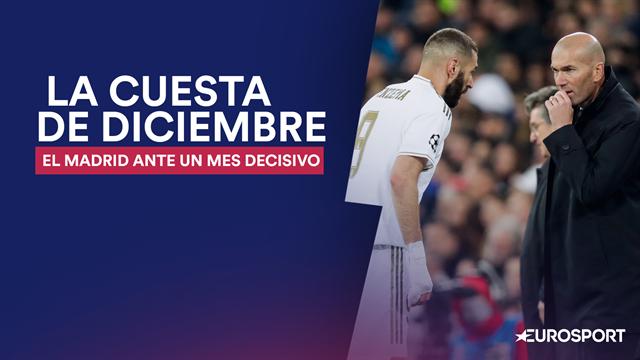 La cuesta de enero se adelanta para el Madrid: el calendario que aprieta a los de Zidane