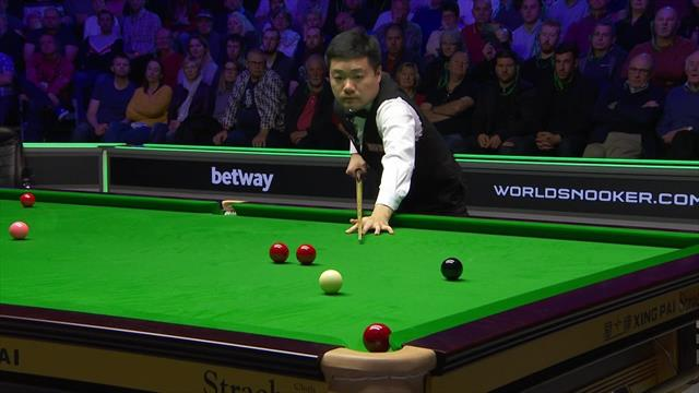 'Match of the tournament!' - Closing moments as Ding beats O'Sullivan