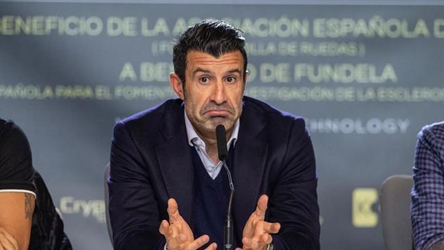 """Figo: """"Nunca he sentido racismo en el vestuario del Barcelona"""""""