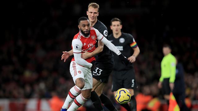 Le match Brighton - Arsenal reporté