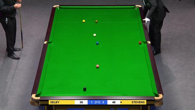 UK Championships: Lovitură grozavă a lui Stevens, cel care l-a eliminat pe Mark Selby