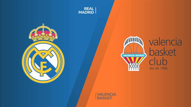 Highlights: Real Madrid-Valencia Basket 111-99