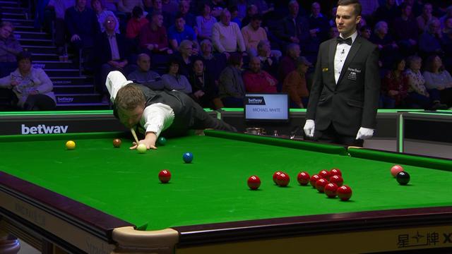 Snooker | Ronnie O'Sullivan bezwijkt op dag 6 onder de druk van York Barbican
