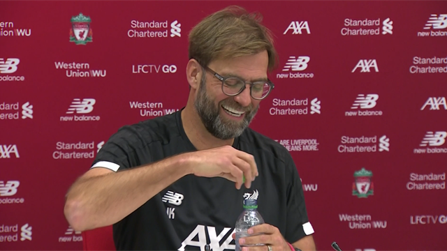 Klopp not interested in Liverpool being 'top of the Christmas tree'