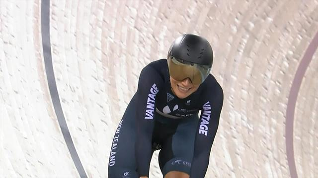'Oh my goodness' - New Zealand win women's team sprint gold