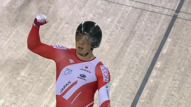 'Wow!' - Japan win men's team sprint final for gold