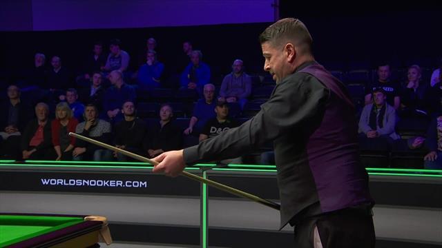 Snooker, Campeonatos del Reino Unido: El golpe de suerte de Matthew Stevens