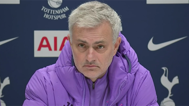 'You have to be angry after a defeat' says Mourinho after Man Utd loss