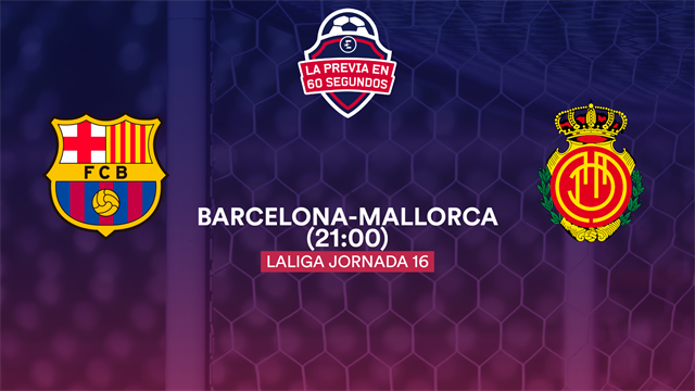 """La previa en 60"""" del Barcelona-Mallorca: La fiesta de Messi (21:00)"""