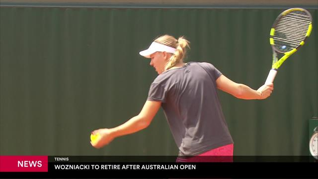 Caroline Wozniacki anuncia su retirada del tenis