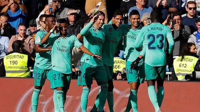Real Madrid alla francese: 2-0 all'Espanyol grazie a Varane e Benzema