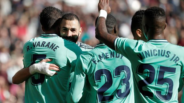 Varane et Benzema buteurs, Mendy expulsé : le Real voit la vie en bleu