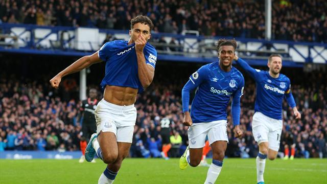 Calwert-Lewin înscrie al treilea gol al lui Everton cu Chelsea