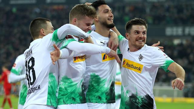 Mönchengladbach arrache le choc et sauve sa tête