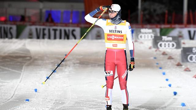 Riiber makes it four from four in Nordic Combined World Cup