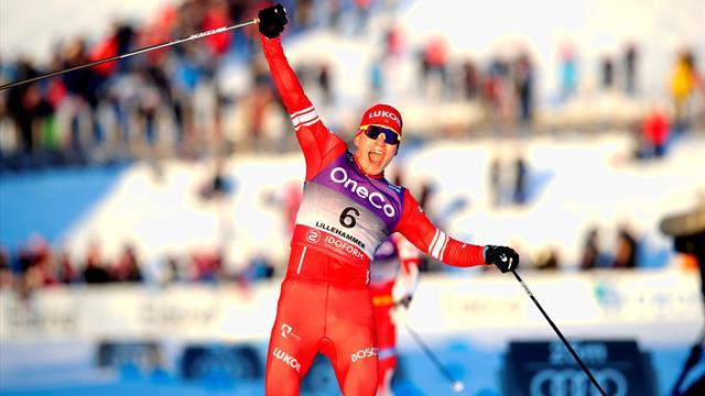 Bolshunov narrt die Norweger in Lillehammer