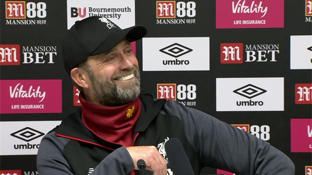'Princess is calling!' – Klopp's press conference interrupted by phone